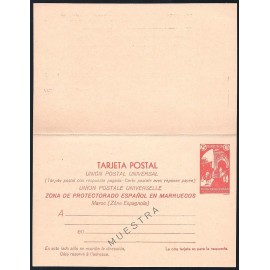1933 ED. 23M * Enteros Postales Marruecos