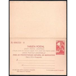 1933 ED. 23 * Enteros Postales Marruecos