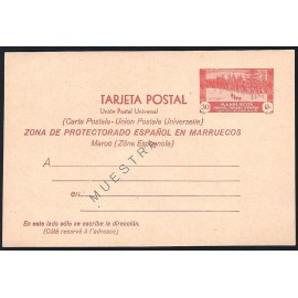 1935 ED. 24M * Enteros Postales Marruecos