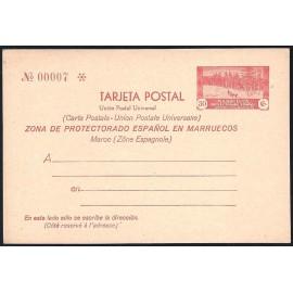 1935 ED. 24 * Enteros Postales Marruecos