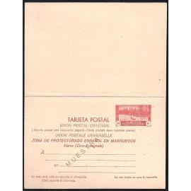 1935 ED. 25M * Enteros Postales Marruecos