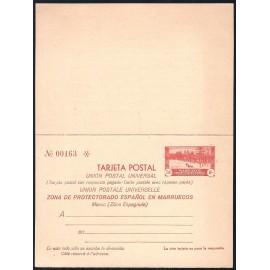 1935 ED. 25 ** Enteros Postales Marruecos