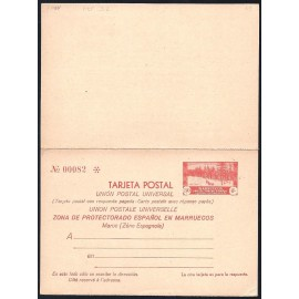 1935 ED. 25 * Enteros Postales Marruecos