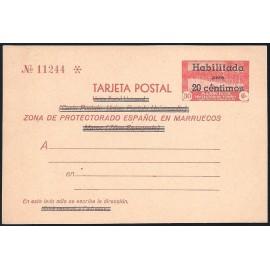 1939 ED. 26 * Enteros Postales Marruecos