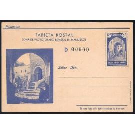 1939 ED. 28M * Enteros Postales Marruecos