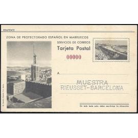1942 ED. 32N * Enteros Postales Marruecos