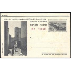 1942 ED. 33 * Enteros Postales Marruecos