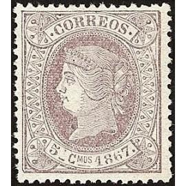 1867 ED. Cuba 18 *