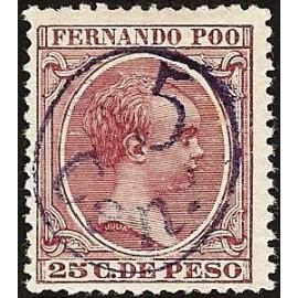1896 ED. Fernando Poo 40Jhcc *