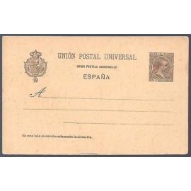 1892 ED. Tarjetas Entero Postales 32 *