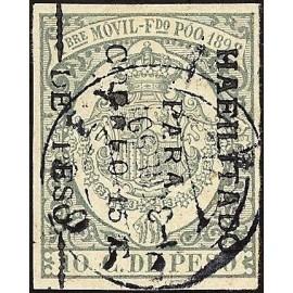1898 ED. Fernando Poo 43c us