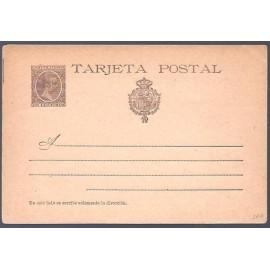 1897 ED. Tarjetas Entero Postales 36 *
