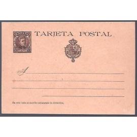 1901 ED. Tarjetas Entero Postales 37SN *