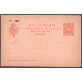 1901 ED. Tarjetas Entero Postales 40 *