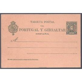 1903 ED. Tarjetas Entero Postales 43SN *