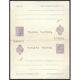 1910 ED. Tarjetas Entero Postales 51 *