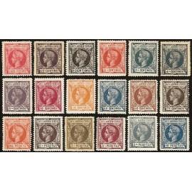 1903 ED. Elobey, Annobón y Corisco 01N/18N *