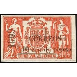 1909 ED. Elobey, Annobón y Corisco 50G *