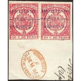 1897 ED. Fernando Poo 41B us [x2]