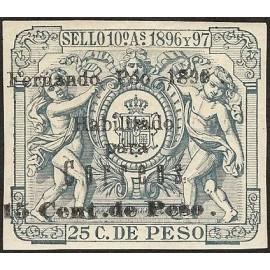 1899 ED. Fernando Poo 47G *