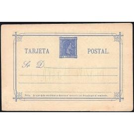 1875 ED. 9 * Tarjetas Entero Postales