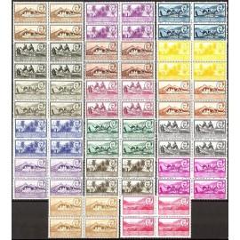 1950 ED. África Occidental 3/19 ** [x4] (2)