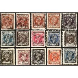 1898 ED. Filipinas 151/164, 166 *