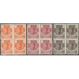1914 ED. Guinea 108/110 ** [x4]