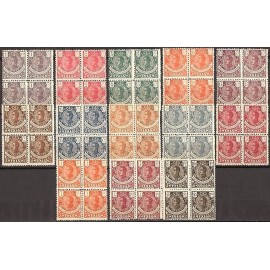 1914 ED. Guinea 098/110 ** [x4]