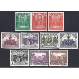 1931 ED. 604s/613s *