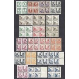 1937 ED. 814/831, 816A, 816B, 823A ** [x4]